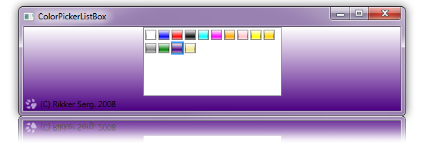 ColorPicker на WPF