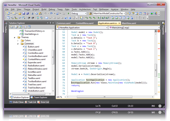 Релиз кандидат Visual Studio 2010